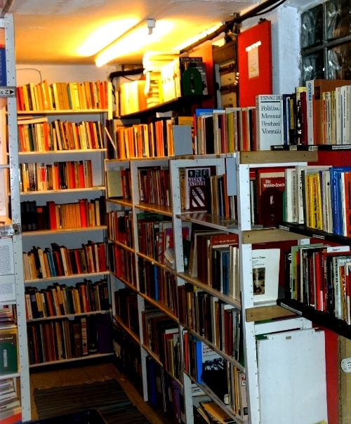 Bibliothek Schwarze Katze